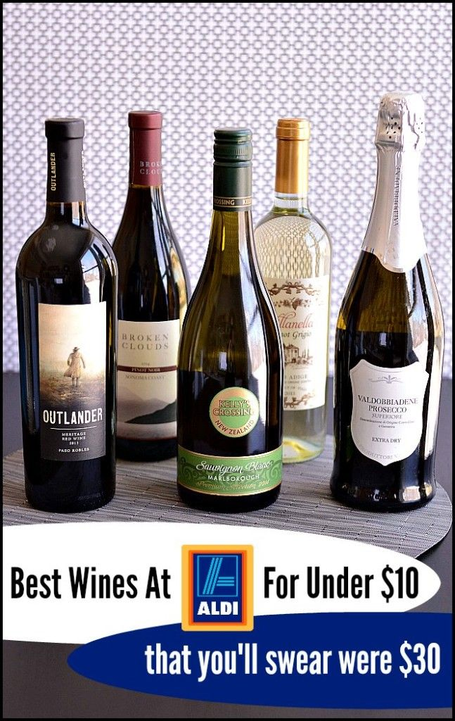 Here are the best wines at ALDI for under $10. Because let's be honest, life is too short for bad wine and our wallets can't afford $30 bottles on Tuesday night with pizza takeout. Cheers, FRIENDS.