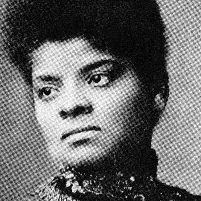 Ida B. Wells-Barnett, journalist who led an anti-lynching crusade in the United States in the 1890s and Suffragette.