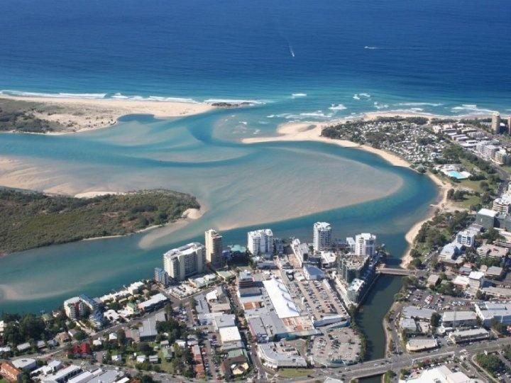 Aerial View, Maroochydore QLD, Australia