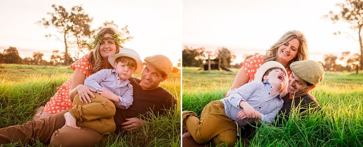 Family Portraits by Ange Wall Photography Golden Light / Golden Hour Family Love Western Australian Photographer