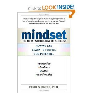 I'm reading MINDSET for our monthly discussion group. Very thought provoking!