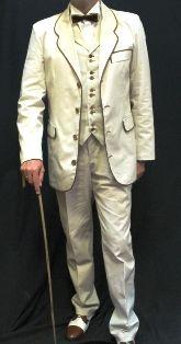 Moda 1900 Hombre. Traje de mañana #1900s