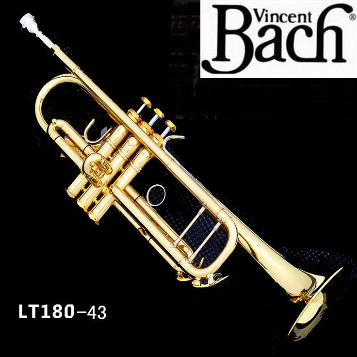 Free Shipping New Trumpet Trompete Trompetas Bach LT180-43 bB Trompeta Musical Instruments Professional Trompete Profissional