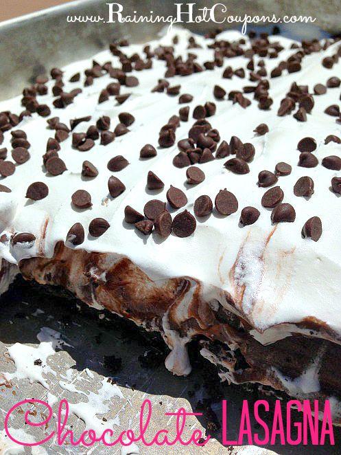 Chocolate Lasagna Recipe