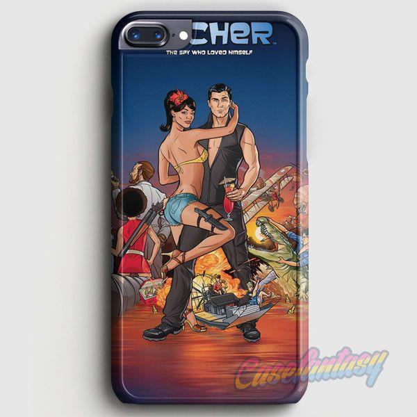 Archer Season 2 iPhone 7 Plus Case   casefantasy