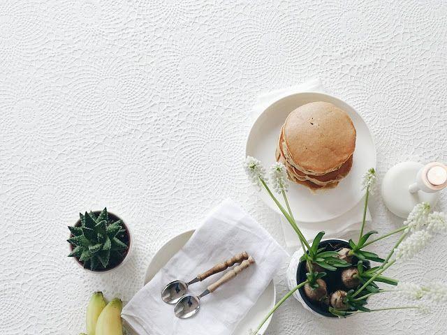 Auf der Mammilade-n-Seite des Lebens | Personal Lifestyle Blog | 5 Lieblinge, Weisheiten und Wohneinblicke mit viel Weiß der Woche | Rezept fuer saftige Bananen-Pfannkuchen