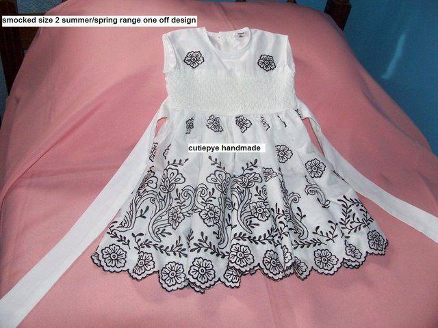 retro print smocked dress revived