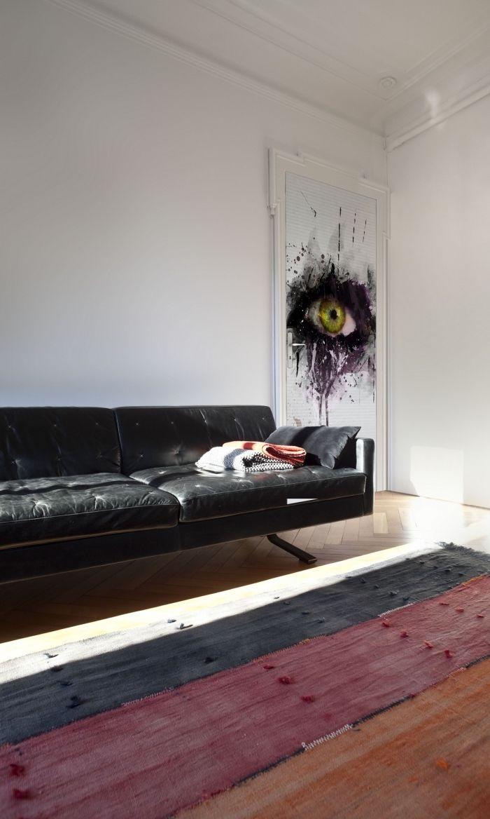 Papier Peint Pour Petit Salon ▷ 1001 + idées petit budget de décoration de porte