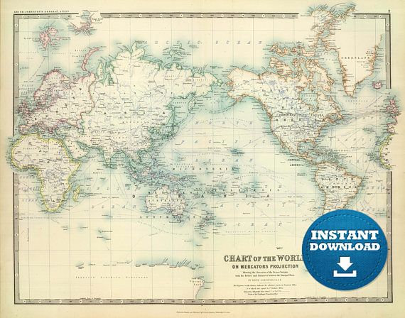 31 best digital world maps images on pinterest maps art print and digital old world map printable download vintage world map printable map large world map high resolution world map posterastralia gumiabroncs Images