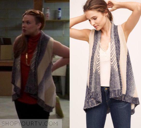 Last Man Standing: Season 6 Episode 3 Kristin's Knit Vest – Shop Your TV