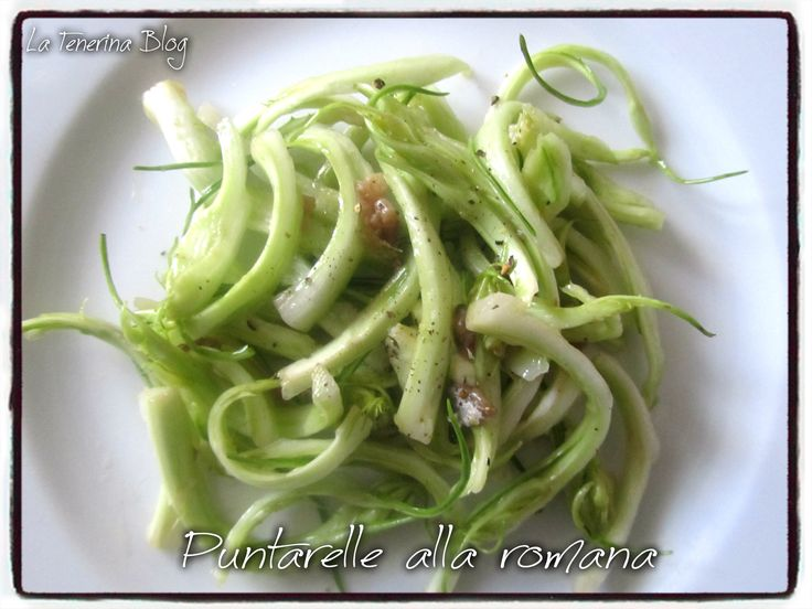 PUNTARELLE ALLA ROMANA | la Tenerina blog