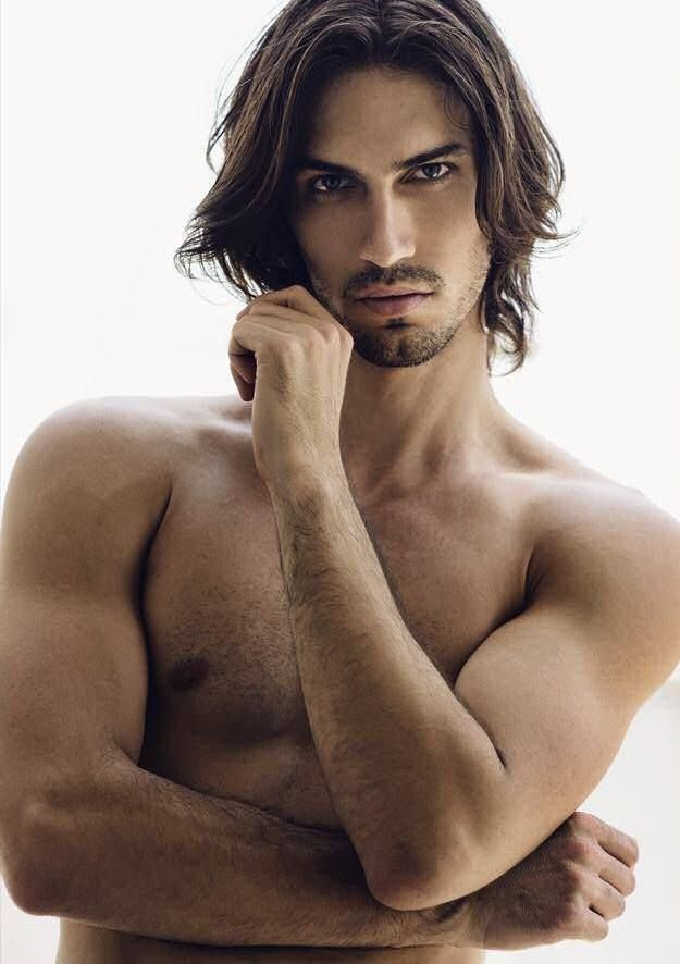 Long Hair Male Models