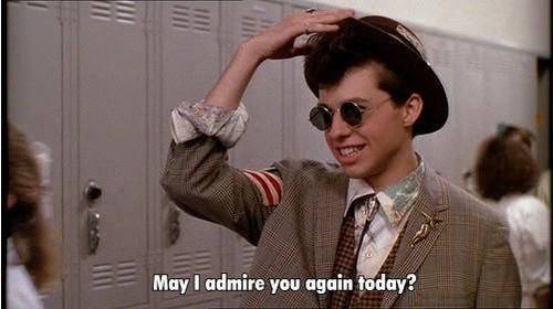 pretty in pink- This movie would have sucked without Ducky