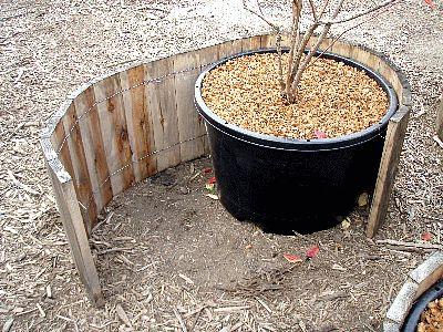 大型鉢(ポット)用 鉢カバー