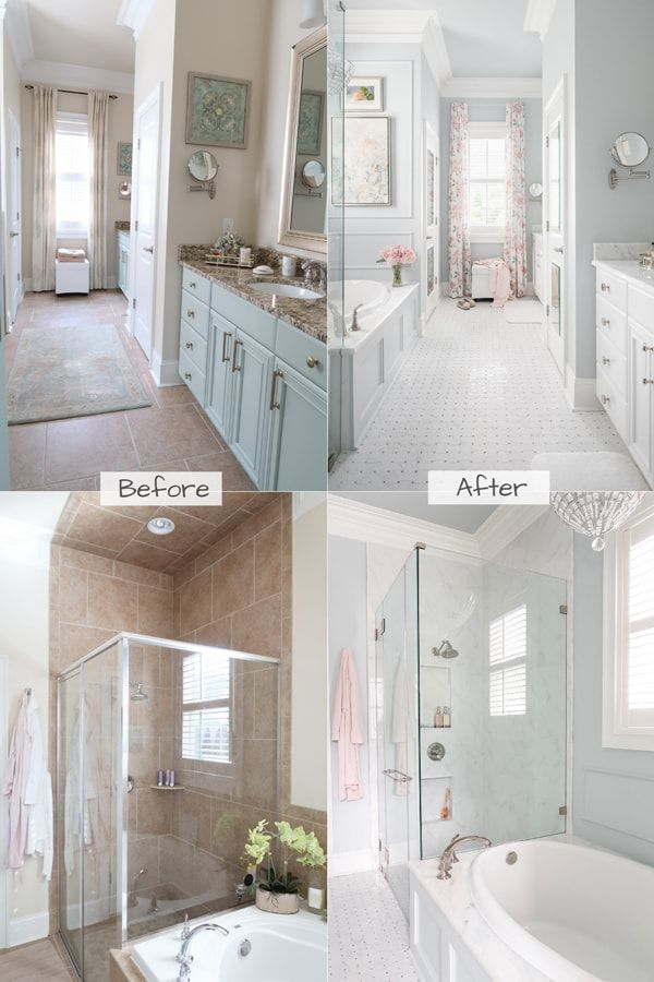 Master Bathroom Remodel Luxury Hotel Reveal Bathroom Remodel Master Bathrooms Remodel Small Bathroom Remodel