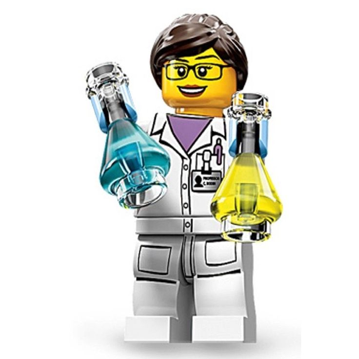 Amazon.com: LEGO Minifigures Series 11, Female Scientist: Toys & Games