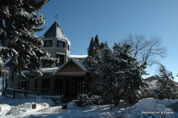 The Berthoud Inn in the #snow. #Colorado #bedandbreakfast #travel #lodging More at: http://www.heiditown.com/2013/03/13/a-stay-at-the-berthoud-inn-in-berthoud-colorado/