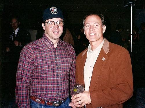 Jake Putnam and Director/ Producer Frank Marshall