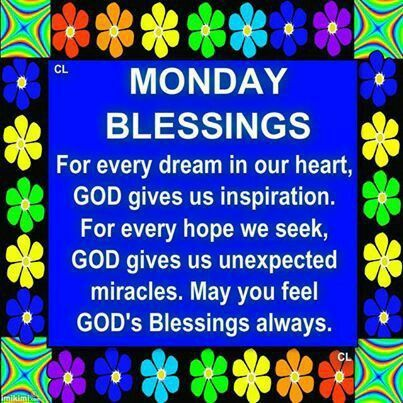 Monday blessings images for facebook monday blessings - Monday blessings quotes and images ...