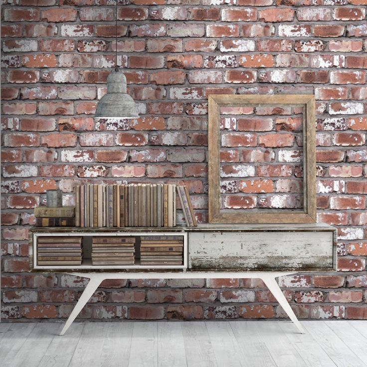 Get the exposed brick look with our fantastic Real Brick Effect Wallpaper.  Designed by Woodchip & Magnolia, this stylish wallcovering will bring a  unique ... - Best 25+ Brick Effect Wallpaper Ideas On Pinterest White Wall