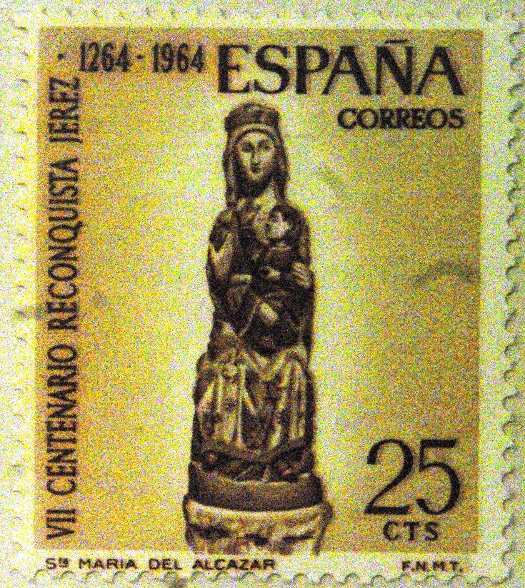 Sellos - VII Centenario Reconquista Jerez 1264-1964