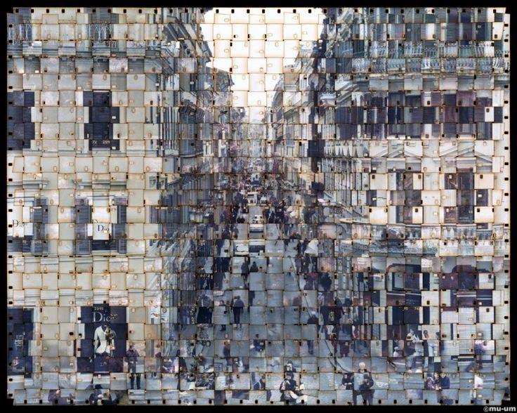 film tisse 03 800x640 Les films tissés de Seung Hoon Park  photographie art