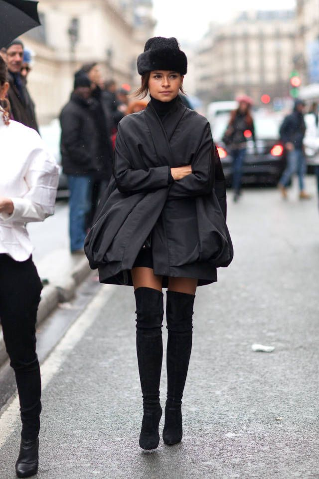 Miroslava Duma. All of the latest street style from Paris Couture Week. Click for more!