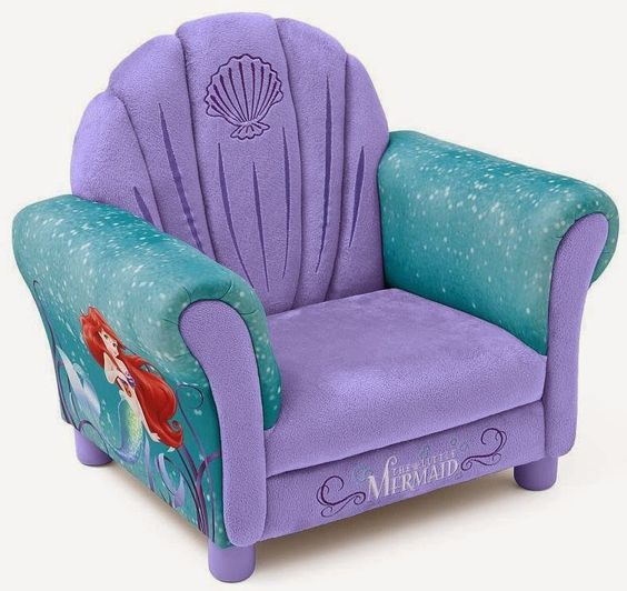 Bedroom Decor Ideas and Designs: How to Decorate a Disney's Princess Ariel Themed Bedroom (The Little Mermaid)