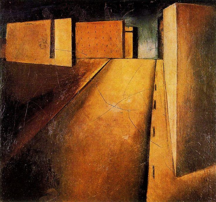 MARIO SIRONI. Sintesi di paesaggio. 1920.