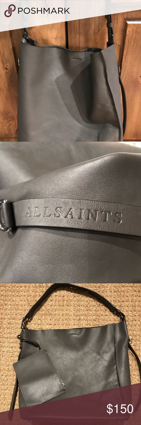 Allsaints North South bag Beautiful bag, rare color, barely used, a little stitching has come undone, Allsaints Bags Totes