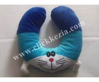 Bantal Lingkaran Leher Doraemon