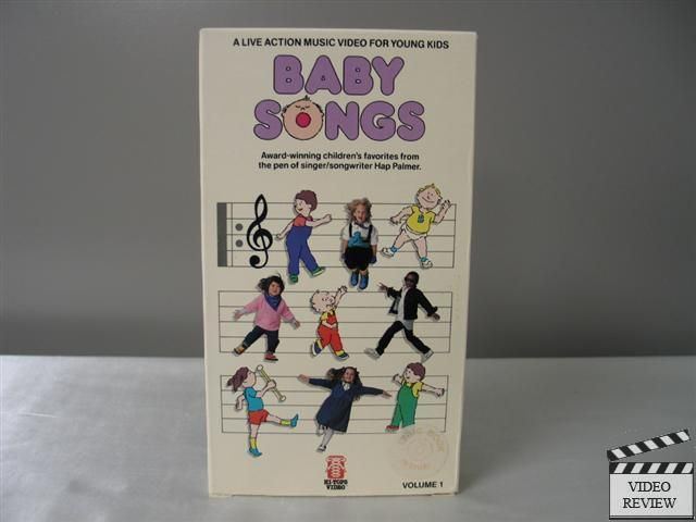 Baby Songs Volume 1 Vhs Hi Tops Video Songbook Not