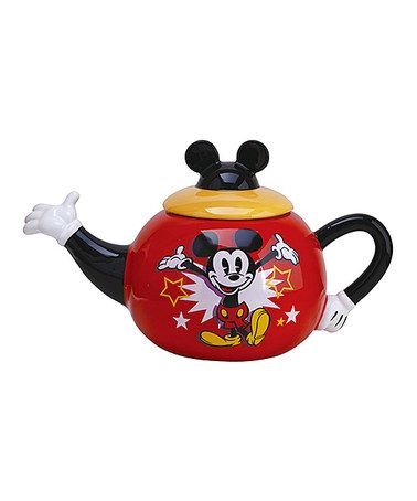 Love this Vintage Mickey Mouse Teapot on #zulily! #zulilyfinds