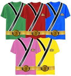 Niño del niño TV Show Power Rangers Samurai Ranger Camisa Camiseta Disfraz De Monstruo in Ropa, calzado y accesorios, Ropa de bebé, Ropa de niños (recién nacido - talla 5) | eBay