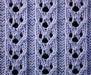 Hoops's Rib Stitch - Stitch Sample