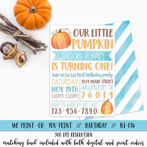 The 25 best Pumpkin invitation ideas on Pinterest