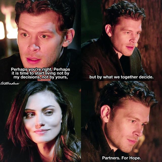 """#TheOriginals 3x16 """"Alone With Everybody"""" - Klaus and Hayley"""