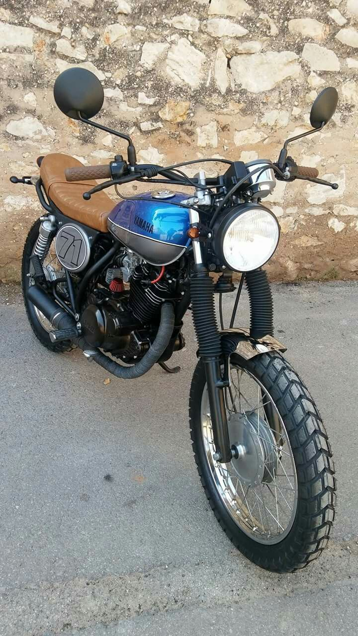 724 best images about yamaha sr250 special on pinterest for Garage yamaha scooter