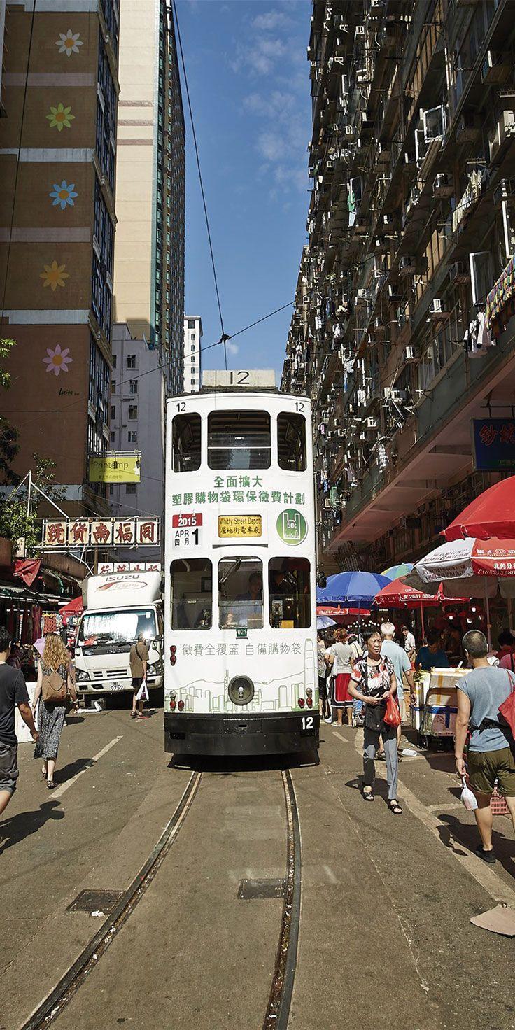 Tram in Hong Kong