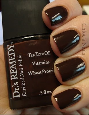 Rich brown nail polish.. i bought this today & i'm excited #nerdy