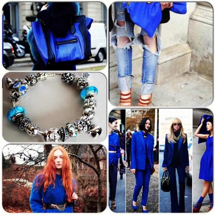 Şimdi moda kobalt mavi! Siz de Pandora koleksiyonlarıyla trendleri yakalayın; stilinize yansıtın :)