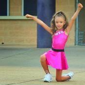Cheerleading cheer costume uniform dance - via @Craftsy