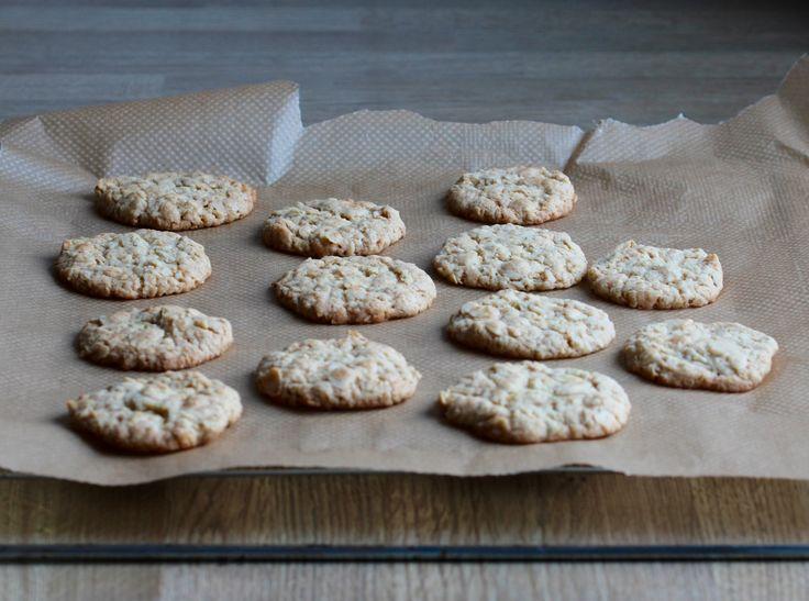 Mandlovo-limetkové sušenky bez vajíček #Bezvaječné, #Cookies, #Limetka, #Mandle, #Máslo, #OvesnéVločky, #Pečení, #Recept, #Sladké, #Sušenky http://wp.me/p66AFB-ff