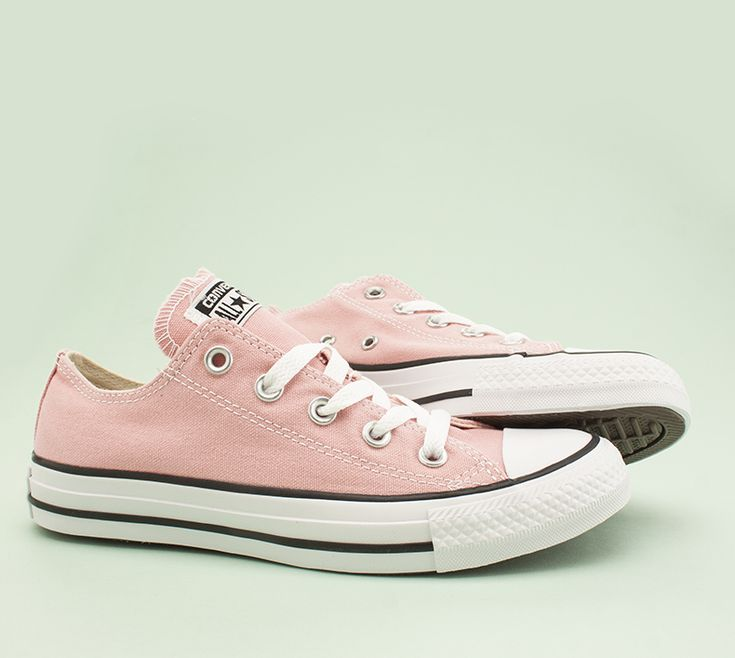 These Cons are pastel pink perfection. Read more on the blog.