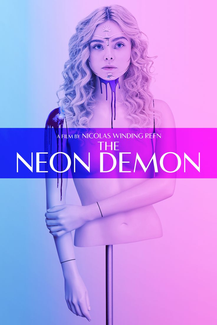 The Neon Demon Movie Poster - Elle Fanning, Karl Glusman, Jena Malone  #TheNeonDemon, #ElleFanning, #KarlGlusman, #JenaMalone, #NicolasWindingRefn, #Horror, #Art, #Film, #Movie, #Poster