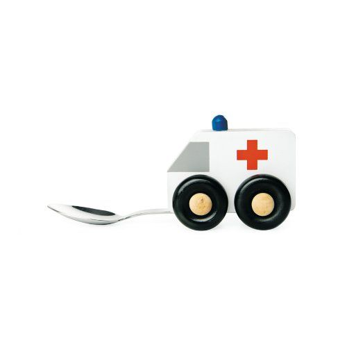 Donkey DON-900104 Baby Spoon, Ambulance, White