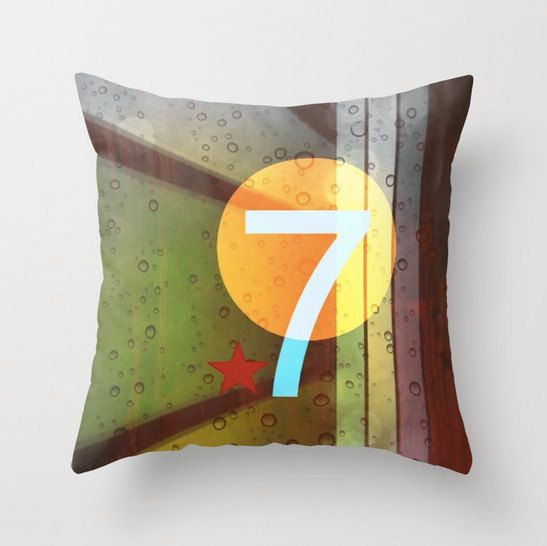 Throw pillow cover by Sw19Gallery  http://www.etsy.com/shop/Sw19Gallery