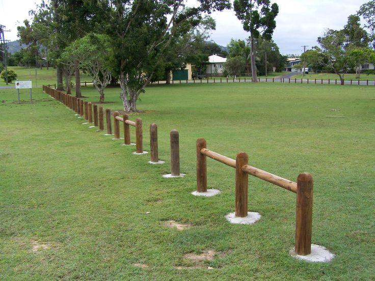 Bollard Perimeter Fence - Cairns Region