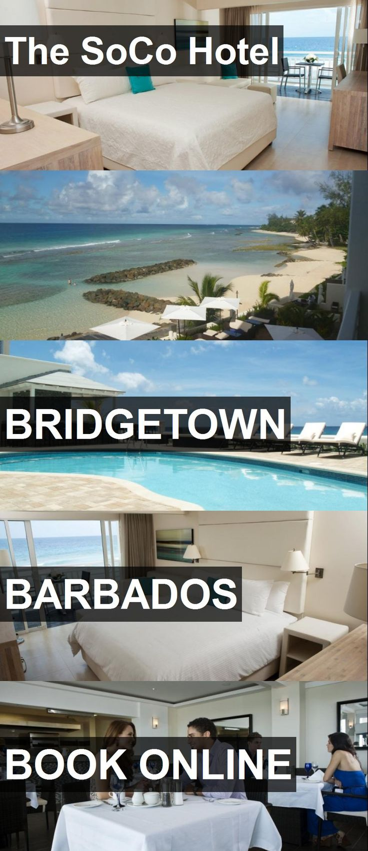 The SoCo Hotel in Bridgetown, Barbados. For more information, photos, reviews and best prices please follow the link. #Barbados #Bridgetown #travel #vacation #hotel