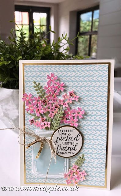 Monica Gale Top STAMPIN'UP! UK Demonstrator: Beautiful Bouquet Bundle- Best Friend
